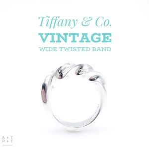 Tiffany & Co. Vintage Twisted Wide Band